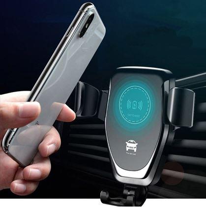 Obrázok z Držiak telefónu s bezdrôtovým nabíjaním