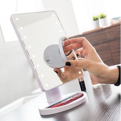 Obrázok Zväčšujúce LED zrkadlo
