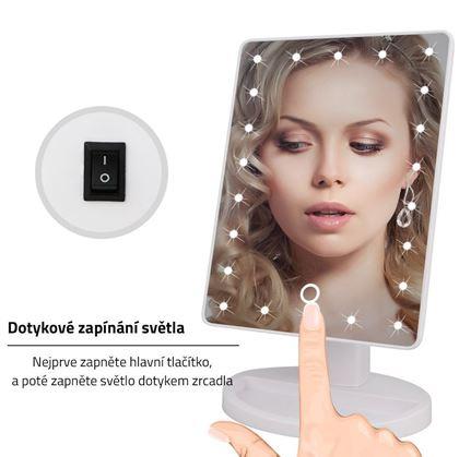 Obrázok z Zväčšujúce LED zrkadlo