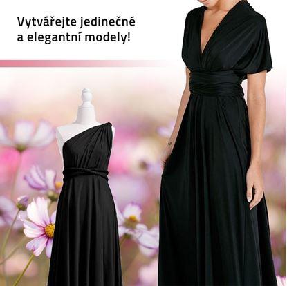 Obrázok Univerzálne čierne šaty