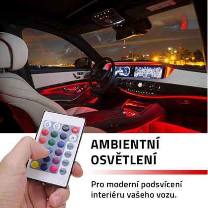 Obrázok z Ambientné osvetlenie do auta