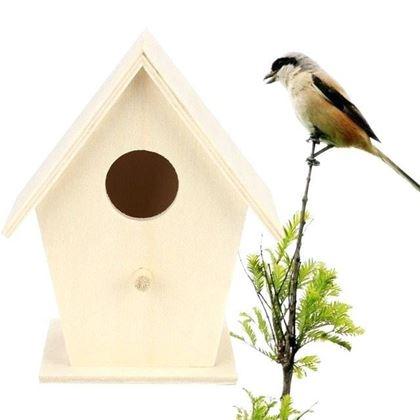 Obrázok z Vyfarbovacia vtáčia búdka