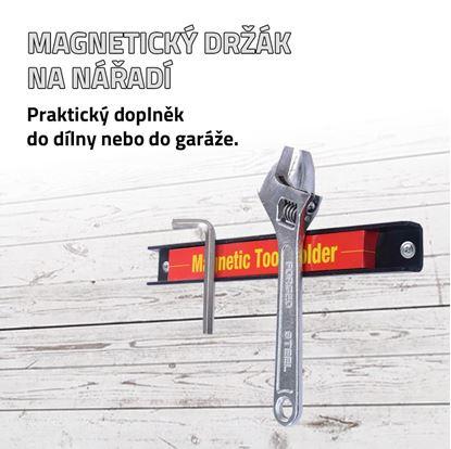 Obrázok Magnetický držiak na náradie 3ks