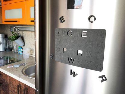 Obrázok Magnetické písmená na chladničke