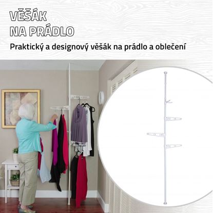 Obrázok Vešiak na prádlo