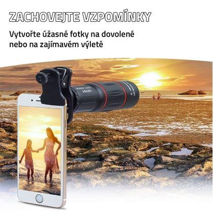 Obrázok z Zoom objektiv na telefón