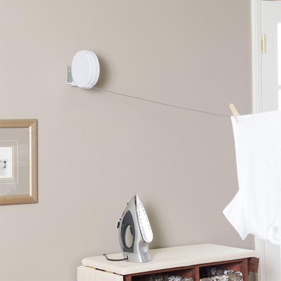 Obrázok z Samonavíjacia šnúra na prádlo