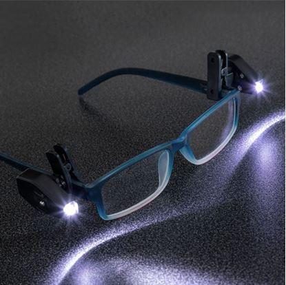 Obrázok Prídavné svetlo na okuliare 2ks