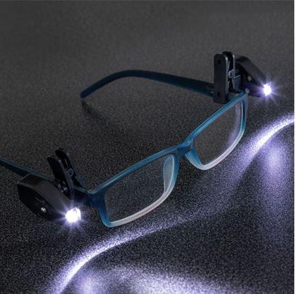 Obrázok z Prídavné svetlo na okuliare 2ks