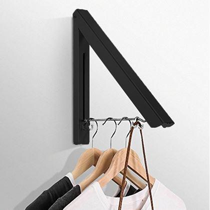 Obrázok z Skladací vešiak na odev - čierny