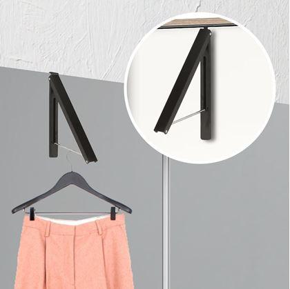 Obrázok z Závěsný věšák na oděv - čierny
