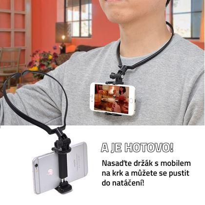 Obrázok z Držiak telefónu na natáčanie