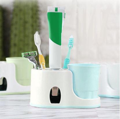 Obrázok Kúpeľňový držiak s dávkovačom pasty