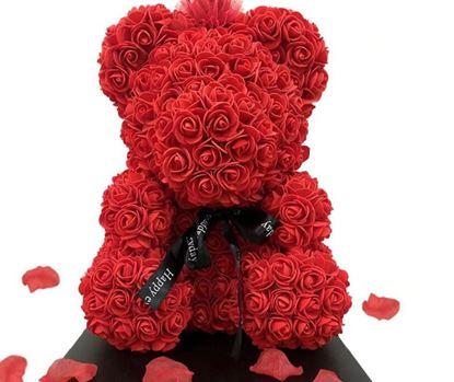 Obrázok Vyrob si sám - Medvedík z ruží