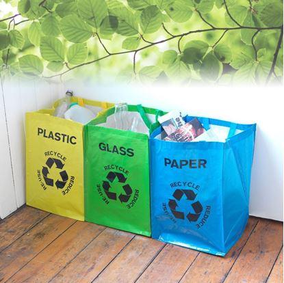 Obrázok Tašky na triedenie odpadu