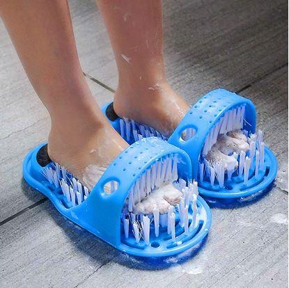 Obrázok Čistiace papuče do kúpeľne