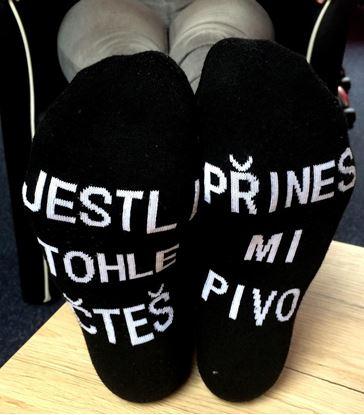 Obrázok Ponožky - Prines mi pivo 3 páry
