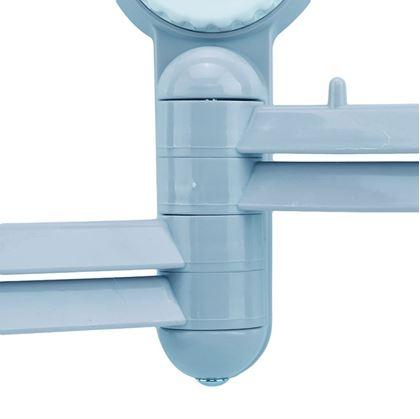 Obrázok z Otočný vešiak na uteráky - modrý