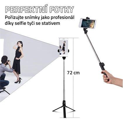 Obrázok z Selfie tyč so statívom