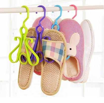 Obrázok z Závesný organizér na topánky