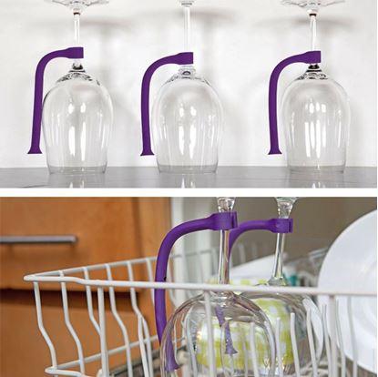 Obrázok Držiak pohára do umývačky 4 ks