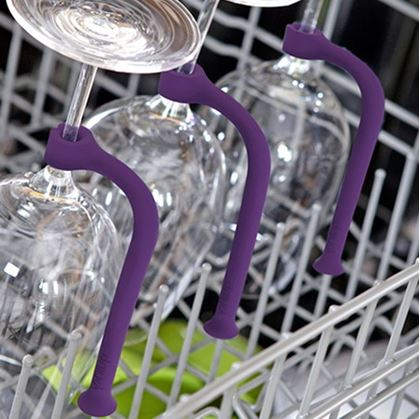 Obrázok z Držiak pohára do umývačky 4 ks