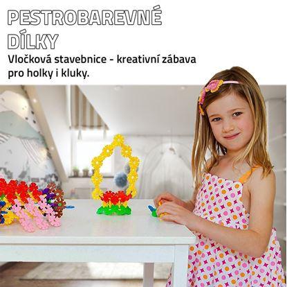 Obrázok Vločková stavebnica 500 ks