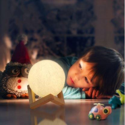 Obrázok Lampička - mesiac