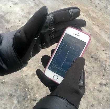 Obrázok z Dotykové rukavice - L