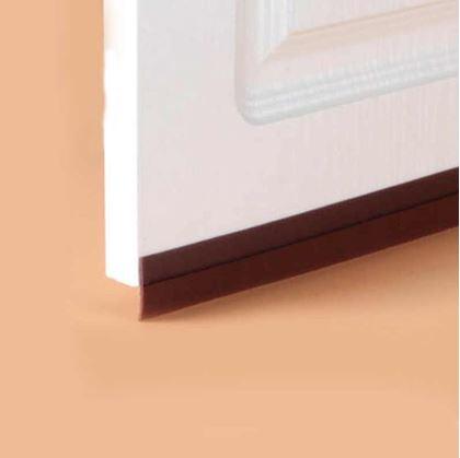 Obrázok z Lišta ku dverám - hnedá
