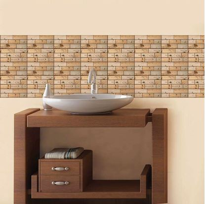 Obrázok 3D tapeta - drevo