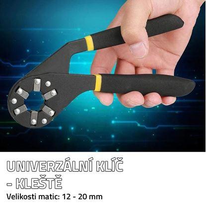 Univerzální klíč - kleště
