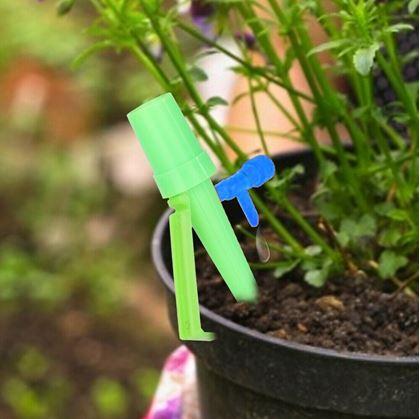 Obrázok z Zavlažovač na PET fľaše - zelený