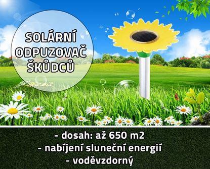 Obrázok Solárny odpudzovač škodcov