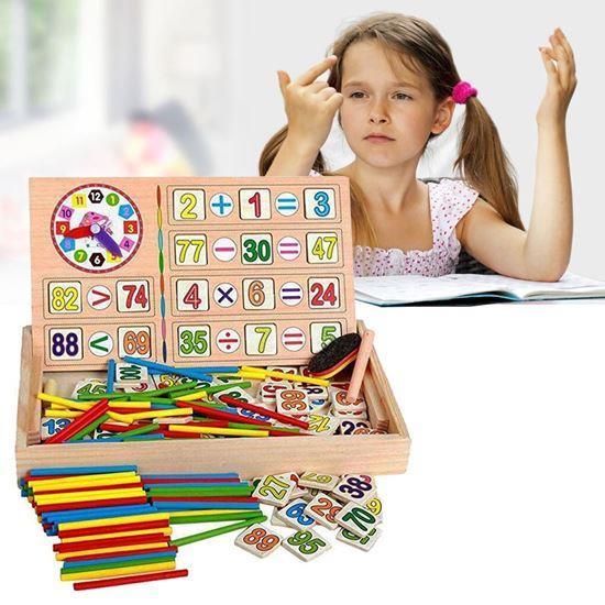Obrázok z Drevená vzdelávacia tabuľka