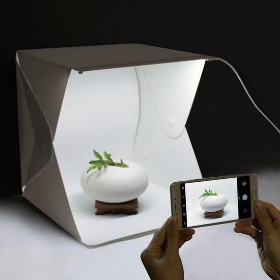 Obrázok z Mini fotobox s LED osvetlením