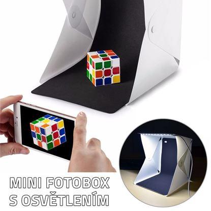 Obrázok Mini fotobox s LED osvetlením
