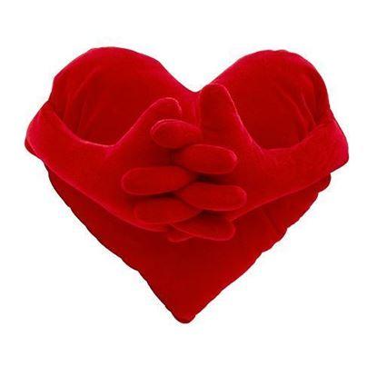 Obrázok Vankúš - srdce s rukami
