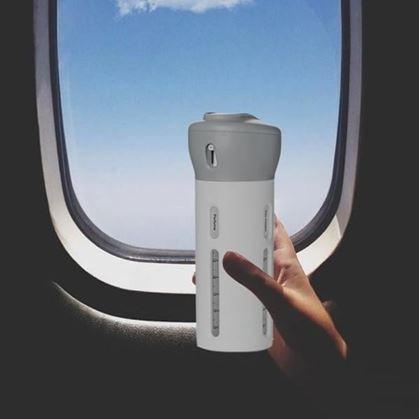 Obrázok z Cestovná sada fľiaš s dávkovačom
