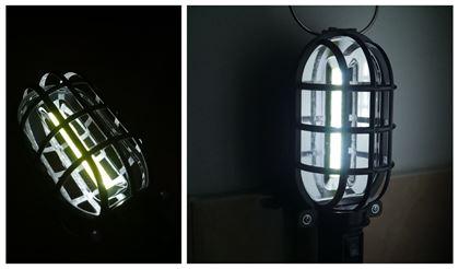 Obrázok z Prenosná lampa - čierna
