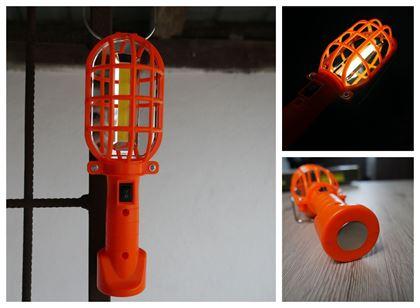 Obrázok z Prenosná lampa - oranžová