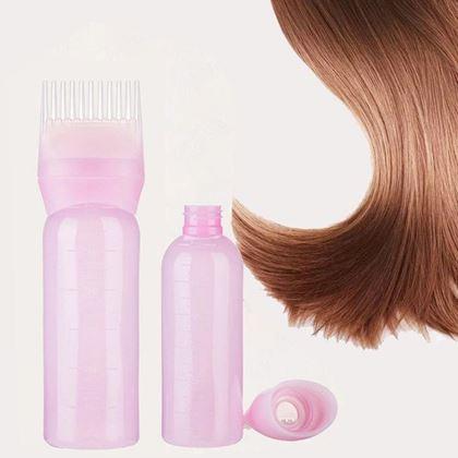 Obrázok z Fľaša s hrebeňom na farbenie vlasov