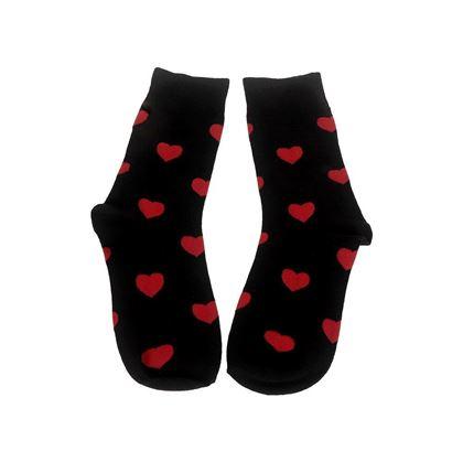 Obrázok z Zamilované ponožky - čierne