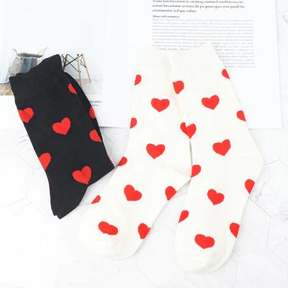 Obrázok z Zamilované ponožky - biele