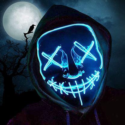 Obrázok Desivá svietiace maska