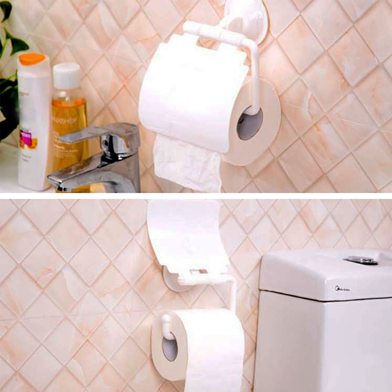 Obrázok z Držiak toaletného papiera s prísavkou