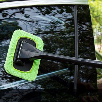 Stěrka do auta zelená