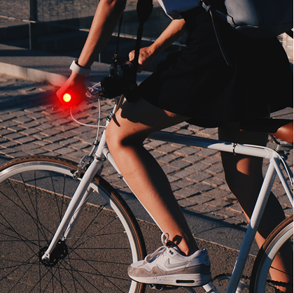 Koncovky do řídítek s LED osvětlením