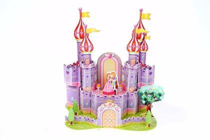 3D puzzle pro děti - hrad