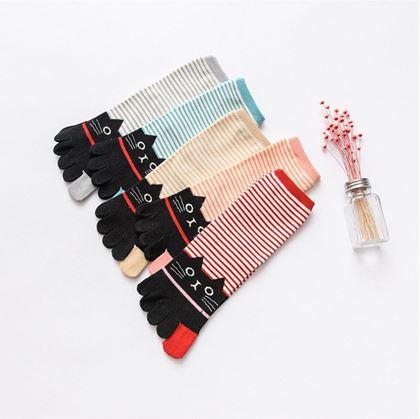 ponožky s kočkou
